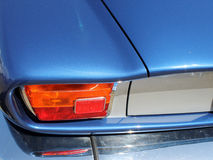 Rear car detail Royalty Free Stock Images