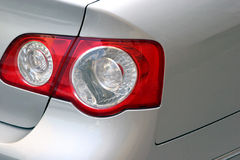 Rear car light. In closeup Royalty Free Stock Photography
