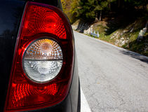 Rear car light Stock Images