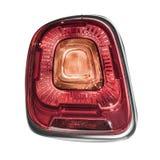 Rear car lights. stock photography