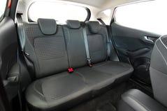Rear car seat royalty free stock photo