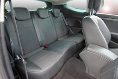 Rear car seat Stock Photography