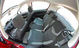Rear car seats Royalty Free Stock Images