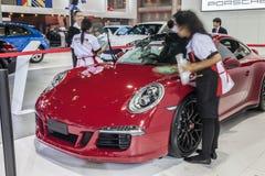 Rear design of Porsche 911 Carrera 4 GTS Stock Image