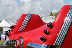 Rear details rare german car Stock Photos