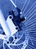 Rear disc brake on cruiser bike Royalty Free Stock Images