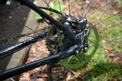 Rear disc brake Stock Photos