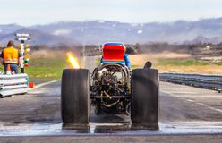 Rear Engine Dragster royalty free stock images