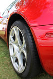 Rear fender and wheel Royalty Free Stock Photography