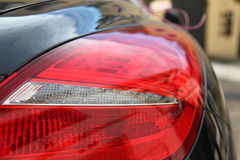 Rear headlight of a vehicle Stock Photo