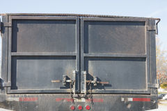 Rear of Industrial Dump Truck Royalty Free Stock Photography