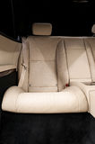 Rear leather seats. Stock Image