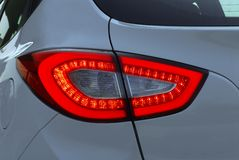 Rear led light Royalty Free Stock Image