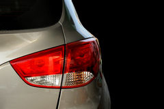 Rear light of a car Stock Images