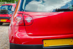 Rear light close-up Stock Photography