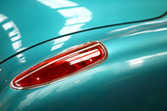Rear light. Detail on the rear light of a vintage car Royalty Free Stock Image