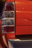 Rear light of pickup truck Royalty Free Stock Image