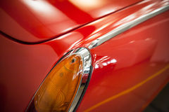Rear light of a vintage car Royalty Free Stock Photo