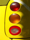 Rear lights. Of sports car royalty free stock images