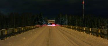 Rear lights of a car Stock Photo