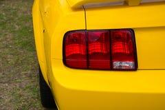 Rear lights Royalty Free Stock Image