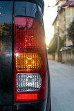 Rear lights of a motor vehicle Stock Image