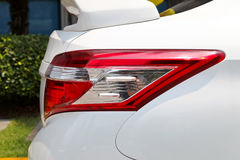 Rear lights of a sport car , back lights of a sport car. Stock Images