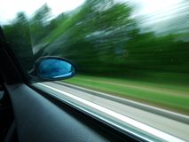 Rear mirror Stock Photo