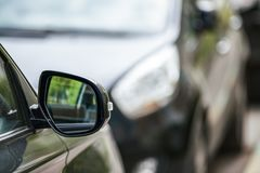 Rear mirror car Royalty Free Stock Photography