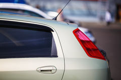 Rear of the modern car Royalty Free Stock Photography