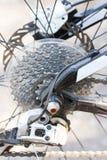Rear Mountain Bike Cassette. Stock Image