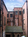 Rear of Old Buildings in Chester. England stock photos
