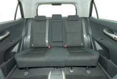 Rear seat Stock Image