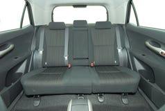 Rear seat Stock Image