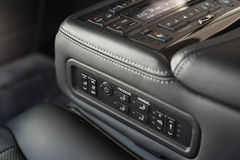 Rear seats controls Stock Image