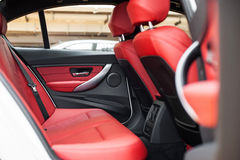 Rear seats Royalty Free Stock Photo
