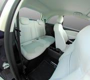 Rear seats in a small car Royalty Free Stock Photos