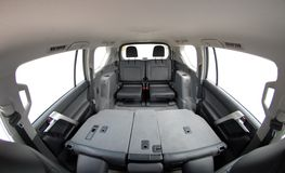Rear seats Stock Images