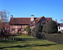 Rear of Shakespeares Birthplace. Stock Images