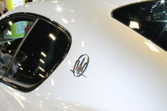 Rear side c-pillar new maserati Royalty Free Stock Photography