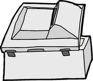 Rear Side of Copier Royalty Free Stock Photo