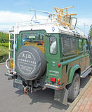 Rear And Side Landrover Detail Stock Photography