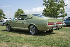 1967 shelby mustang Royalty Free Stock Photo