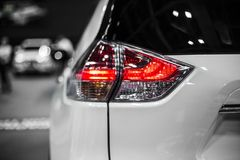 Rear stop light of moder crossover car. Rear stop light of car stock photography Royalty Free Stock Photo