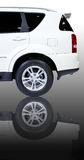 Rear of SUV car Royalty Free Stock Photos