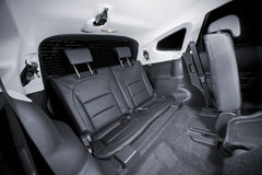 Rear third row seat Stock Images