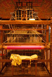 Rear Traditional Wooden Handloom Stock Photography