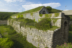 Rear of the Verne Citadel, Victorian UK Royalty Free Stock Photo