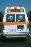 Rear view of ambulance Royalty Free Stock Images