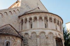 St. Chrysogonus church in Zadar, Croatia royalty free stock photos